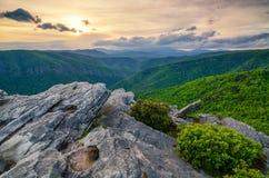 Montagna di Hawkesbill, Nord Carolina Fotografie Stock Libere da Diritti