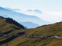 Montagna di Hehuan Fotografia Stock