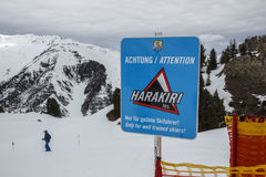 Montagna di Horberg in Austria, 2015 Fotografie Stock