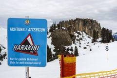 Montagna di Horberg in Austria, 2015 Fotografia Stock