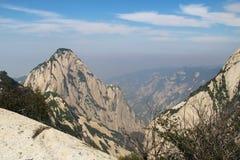 Montagna di Huashan, Xian, Cina Immagine Stock