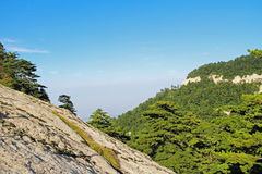 Montagna di Huashan, Xian, Cina Fotografia Stock