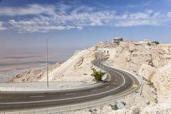 Montagna di Jebel Hafeet, Al Ain Fotografia Stock Libera da Diritti