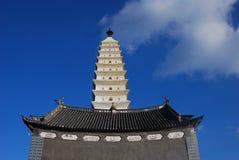 Montagna di Jizu in Cina Fotografie Stock
