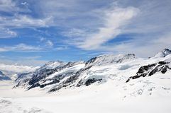 Montagna di Jungfrau Immagine Stock Libera da Diritti