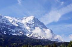 Montagna di Jungfrau Immagine Stock