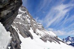 Montagna di Jungfrau Fotografie Stock Libere da Diritti