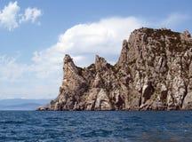 Montagna di Karaul-Oba in Crimea (Novıy Svet) Fotografia Stock Libera da Diritti
