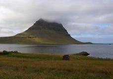 Montagna di Kirkjufell Fotografia Stock