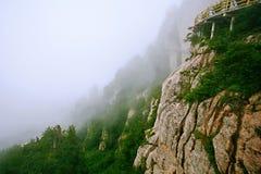 Montagna di Laojun a Luoyang Immagine Stock