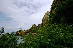 Montagna di Laojun a Luoyang Immagini Stock Libere da Diritti