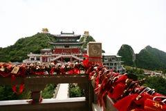 Montagna di Laojun a Luoyang Fotografie Stock Libere da Diritti