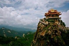 Montagna di Laojun a Luoyang Fotografia Stock Libera da Diritti