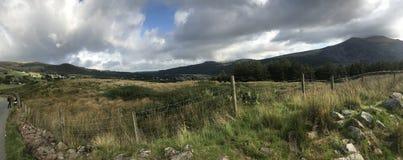 Montagna di Lingua gallese immagine stock