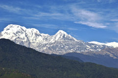 Montagna di Macchapucchre fotografia stock libera da diritti
