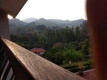 montagna di mattina Fotografia Stock