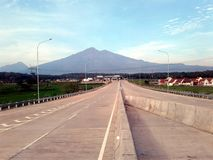 Montagna di Merbabu fotografie stock