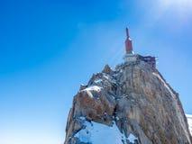 Montagna di Mont Blanc in Francia Immagine Stock