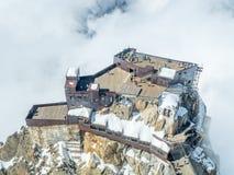 Montagna di Mont Blanc in Francia Fotografia Stock Libera da Diritti