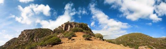 Montagna di Monte Arci, Sardegna, Italia Fotografia Stock Libera da Diritti