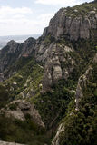 Montagna di Montserrat Immagini Stock Libere da Diritti