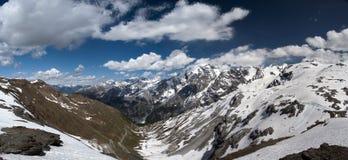 Montagna di Ortles Fotografie Stock