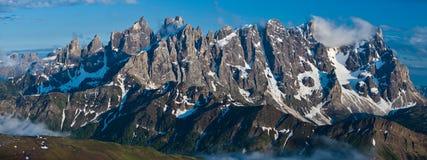Montagna di paesaggio di panorama Immagini Stock
