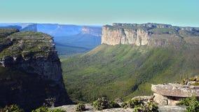 Montagna di Pai Inacio, Chapada Diamantina, Bahia, Brasile immagini stock libere da diritti