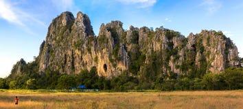 Montagna di Patawee Fotografia Stock