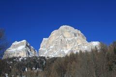 Montagna di Pelmo Immagine Stock