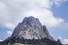 Montagna di Pena de Bernal in Queretaro Messico Fotografia Stock Libera da Diritti