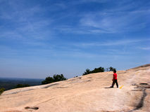 Montagna di pietra Fotografie Stock