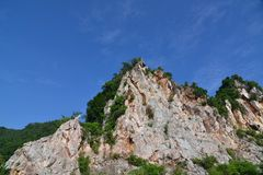 Montagna di pietra Fotografie Stock Libere da Diritti