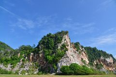 Montagna di pietra Immagini Stock