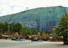 Montagna di pietra Fotografia Stock