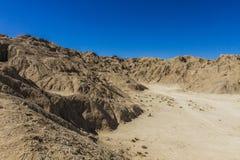 Montagna di pietra del sale Immagini Stock