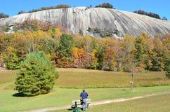 Montagna di pietra NC Fotografie Stock