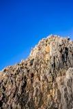 Montagna di pietra nel Giappone Fotografia Stock Libera da Diritti