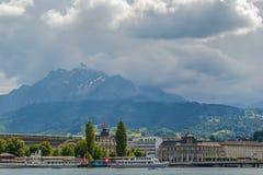 Montagna di Pilatus, Lucerna Immagine Stock Libera da Diritti