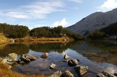 Montagna di Pirin Fotografie Stock
