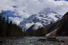Montagna di Pshish Fotografie Stock