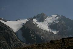 Montagna di punta Tangshan della neve, Immagini Stock Libere da Diritti