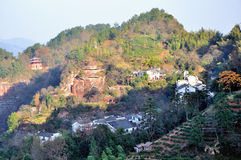 Montagna di Qiyun Fotografie Stock