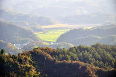 Montagna di Qiyun Immagini Stock