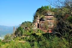 Montagna di Qiyun Immagini Stock Libere da Diritti
