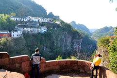 Montagna di Qiyun Fotografie Stock Libere da Diritti