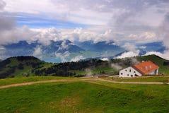 Montagna di Rigi, Svizzera Fotografie Stock Libere da Diritti