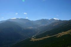 Montagna di Rila Immagini Stock