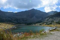 Montagna di Rila Immagine Stock