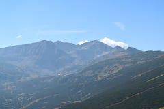 Montagna di Rila Fotografie Stock